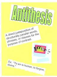 effect of antithesis in literature
